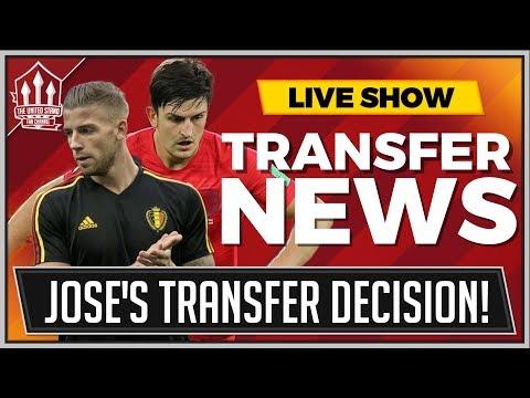 Mourinho's Alderweireld or Maguire Transfer? Man Utd Transfer News Latest