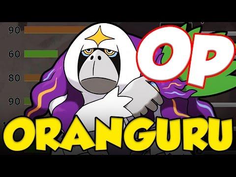 ORANGURU OP! Pokemon Sun and Moon Oranguru Moveset and Oranguru Guide!