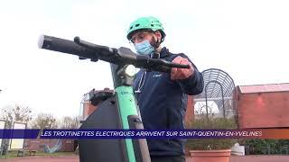 Yvelines | Les trottinettes électriques arrivent sur Saint-Quentin-en-Yvelines !