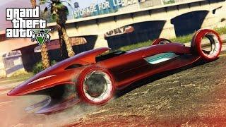 INSANE MODDED CAR STUNT!  - (GTA 5 Mods Funny Moments)