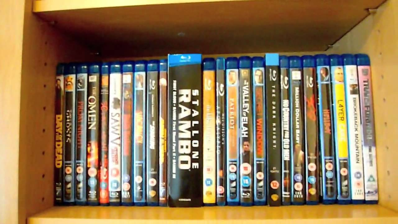 New Bluray Storage And Collection Overview