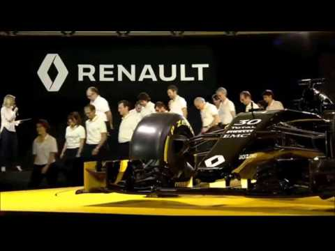 F1 2016 - Renault F1 Car Full Presentation Event