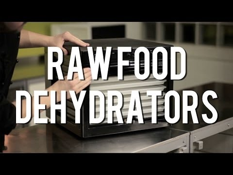Do you need a dehydrator for raw food recipes?