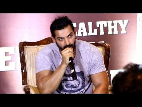 Thumbnail: John Abraham SHOUTS at a reporter | Dishooom Promotions