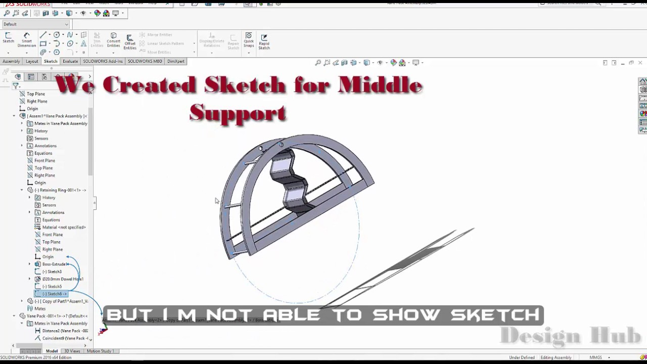 Assembly Sketch(es) not showing in Graphics Area-How to Show