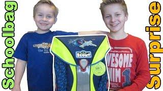 Einschulung - der neue Schulranzen -  Schoolbag Surprise - Kanal für Kinder