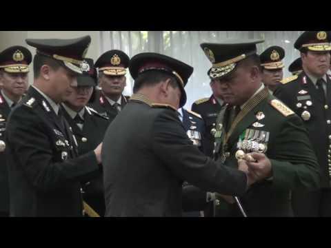 Panglima TNI Terima Penganugerahan Tanda Penghormatan Bintang Bhayangkara Utama