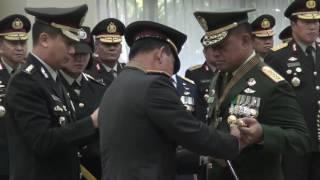Panglima TNI Terima Penganugerahan Tanda Penghormatan Bintang Bhayangkara Utama Mp3