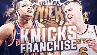 FIRST PLAYOFF SERIES SINCE '13! - KNICKS FRANCHISE EP.10 | NBA 2K19