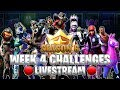 COMPLETING ALL WEEK 4 BATTLE PASS CHALLENGES! (Fortnite Season 6)
