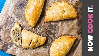 Hot Sausage Pastry Pockets Recipe