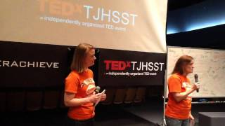 I used to live my life at breakneck speed until I broke my neck   Jackie and Judy Bello   TEDxTJHSST