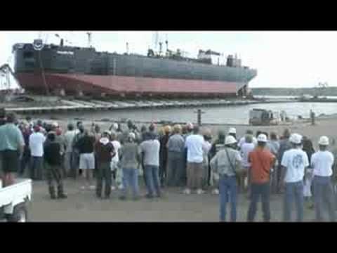942 Barge Launch