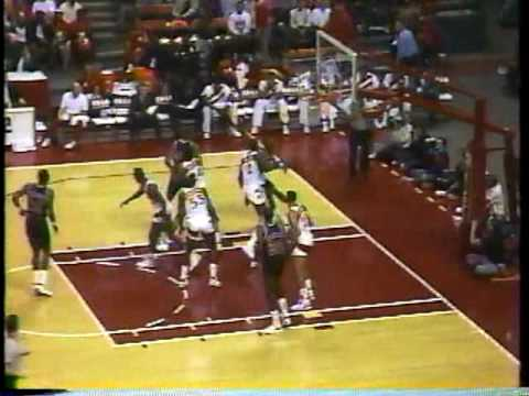 Portland Trail Blazers at Atlanta Hawks, 1988-89 season (pt 1/10)