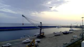 видео: Морской порт имеретинский в адлере