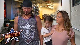 AJ Styles apologizes to his family for losing his cool vs. Samoa Joe: Exclusive, Aug. 19, 2018