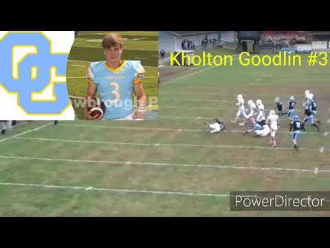 Oak Glen Vs Lincoln County Football Game Highlights 10-26-19