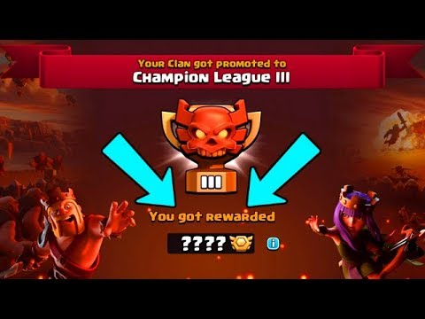 SO HAPPY THIS FINALLY HAPPENED!  CHAMPION LEAGUE!  Clash of Clans
