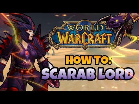 How to become a SCARAB LORD in Vanilla  Classic WoW Quest Guide