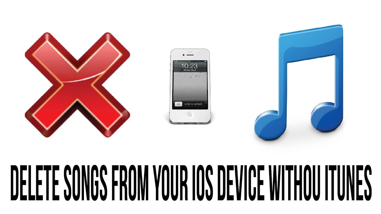 How To Delete Music On Iphone And Ipod Touch Without Itunes