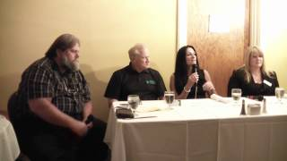 """RelyLocal Asheville """"Support Local Asheville"""" Business Networking Lunch - Deal Media Panel"""