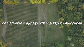Compilation du DJI phantom 3 Pro x Launchpad