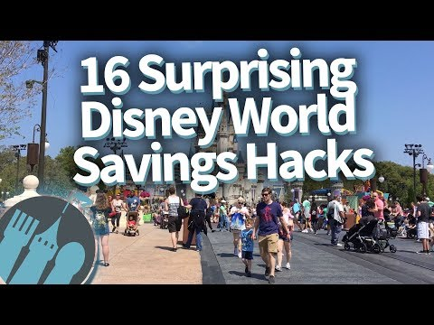 Surprising Disney World Money Saving Hacks!
