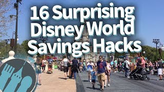 Surprising Disney World Money Saving Hacks!