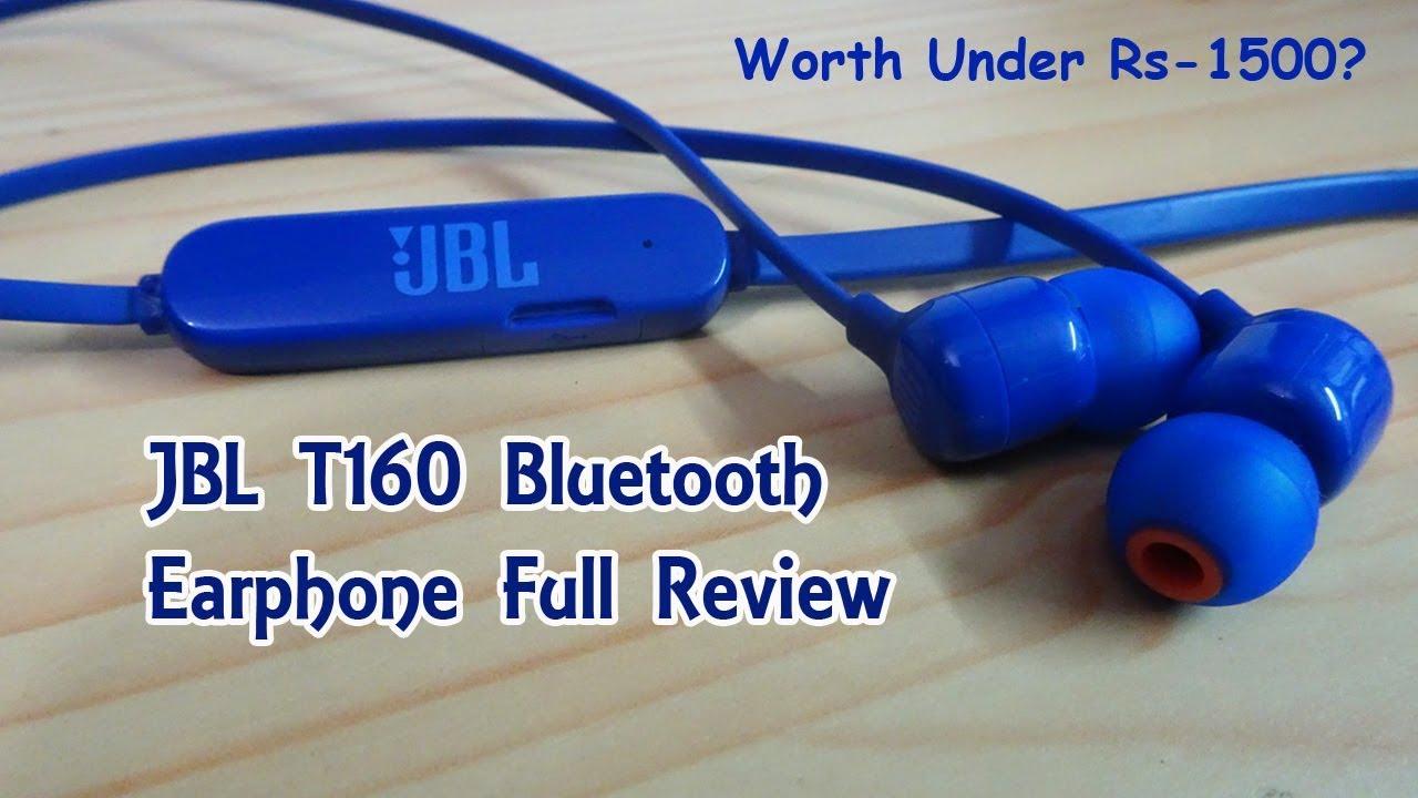 27cb397e909 JBL T160 Bluetooth Earphone Full Review   Best Selling Earphone ...