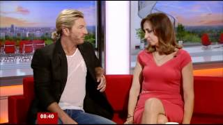 Sally Nugent BBC Breakfast Sport 20-06-2012
