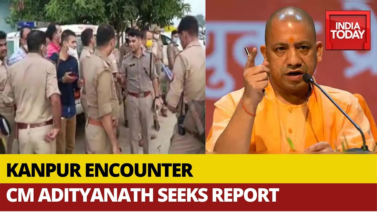 Download Eight UP Cops Killed In Encounter With Criminals In Kanpur; CM Yogi Adityanath Seeks Report