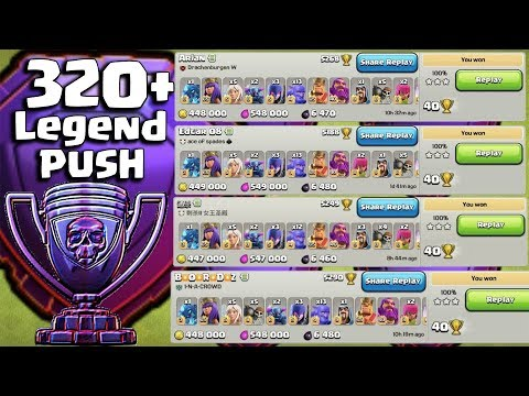Legend Push - Best Ground Strategy 2019 - Hit To Top - 3star TH12 Legend Base - Clash Of Clans