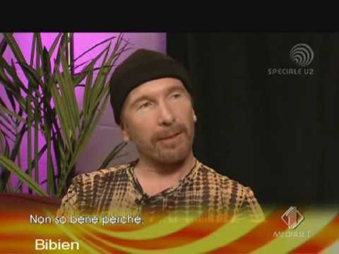 U2 - Interview with The Edge (Italian tv)