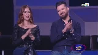 خولة بنعمران وسام وعبد الله أبو جاد، غسان وليلى في حلقة خاصة بالازواج