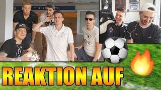 REAKTION auf unsere alten Fußballvideos | ViscaBarca & MarcelScorpion