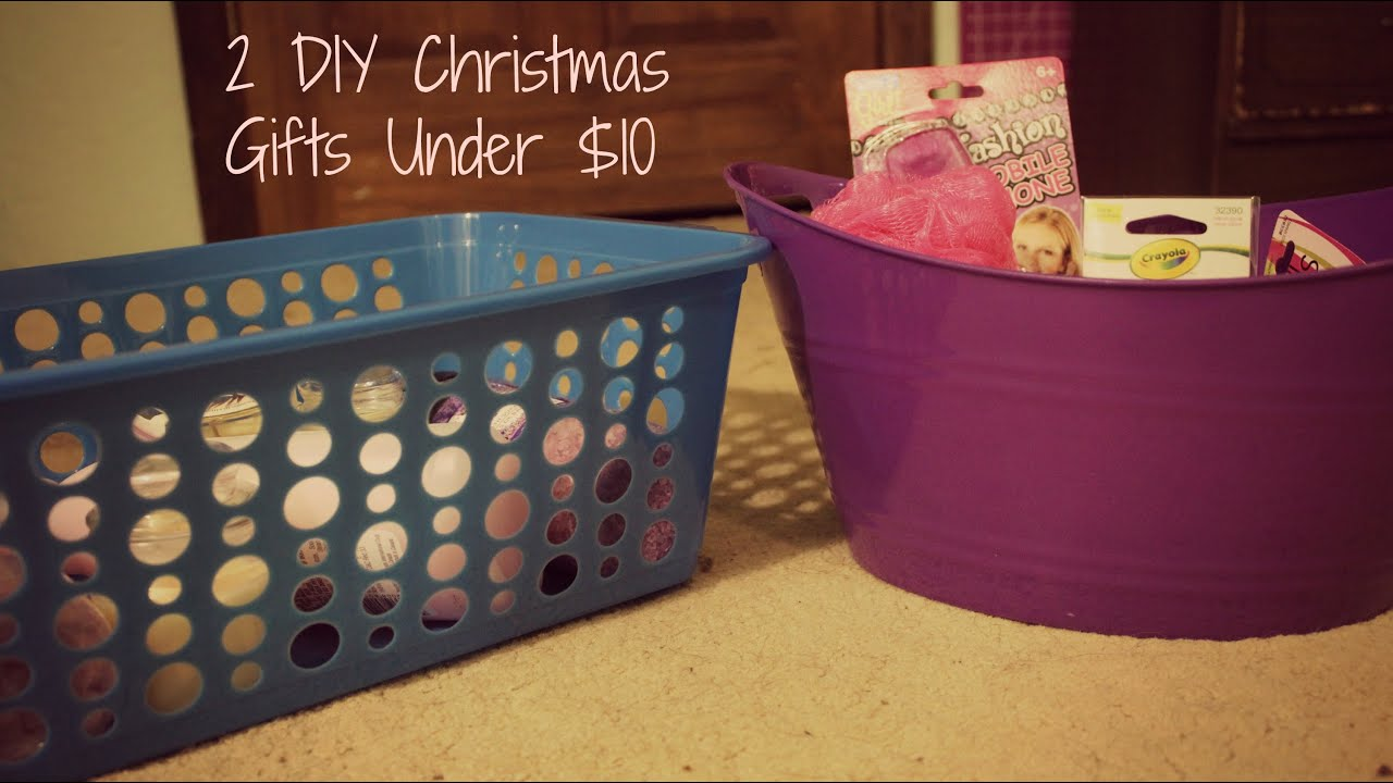 2 DIY Christmas Gifts For Under $10 - YouTube