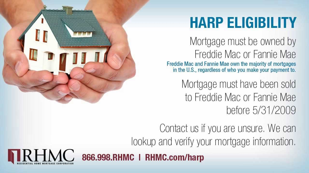 Harp Refinance Ny Pa Ct Nj Harp Loan Mortgage Lender Rhmc