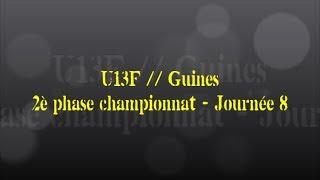 Retour sur le match... U13F // Guines