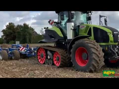 Farm Machinery Show 2020.Claas Axion 960 Terra Trac Finalista Categoria Open Field Tractor Of The Year 2020