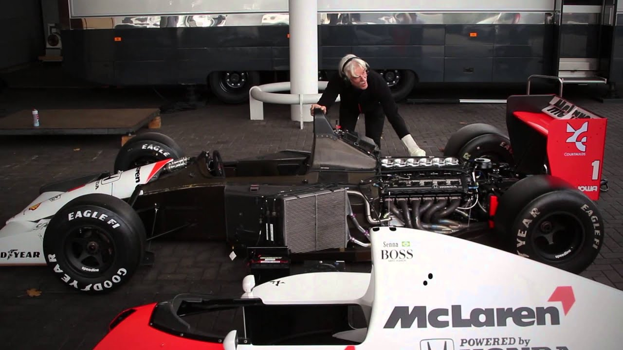 fire up: 1991 mclaren mp4/6 v12 - youtube