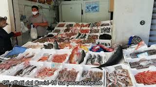 Gli effetti del Covid-19 sul pescato locale: al mercato di Termoli
