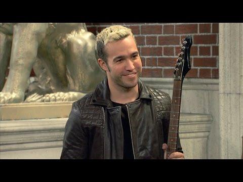 EXCLUSIVE: Pete Wentz Is 'Kind of a Jerk' in Nickelodeon's 'School of Rock' Cameo