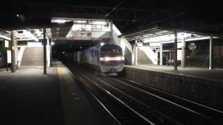 ロゴ無し!EF210形貨物列車 三ヶ根通過
