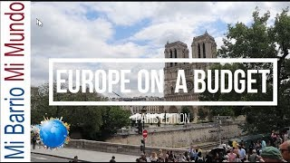 How to travel to Europe on a budget (2019)