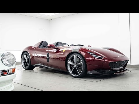 This Ferrari Monza Paint-Protection Film Installation Video Is Oddly Satisfying