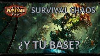 Warcraft III: Survival Chaos - ¿Azul y tus heroes? ¿Amarillo y tu base?