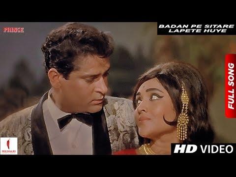 Badan Pe Sitare Lapete Huye | Mohammad Rafi | Prince | Shammi Kapoor, Vyjayanthimala