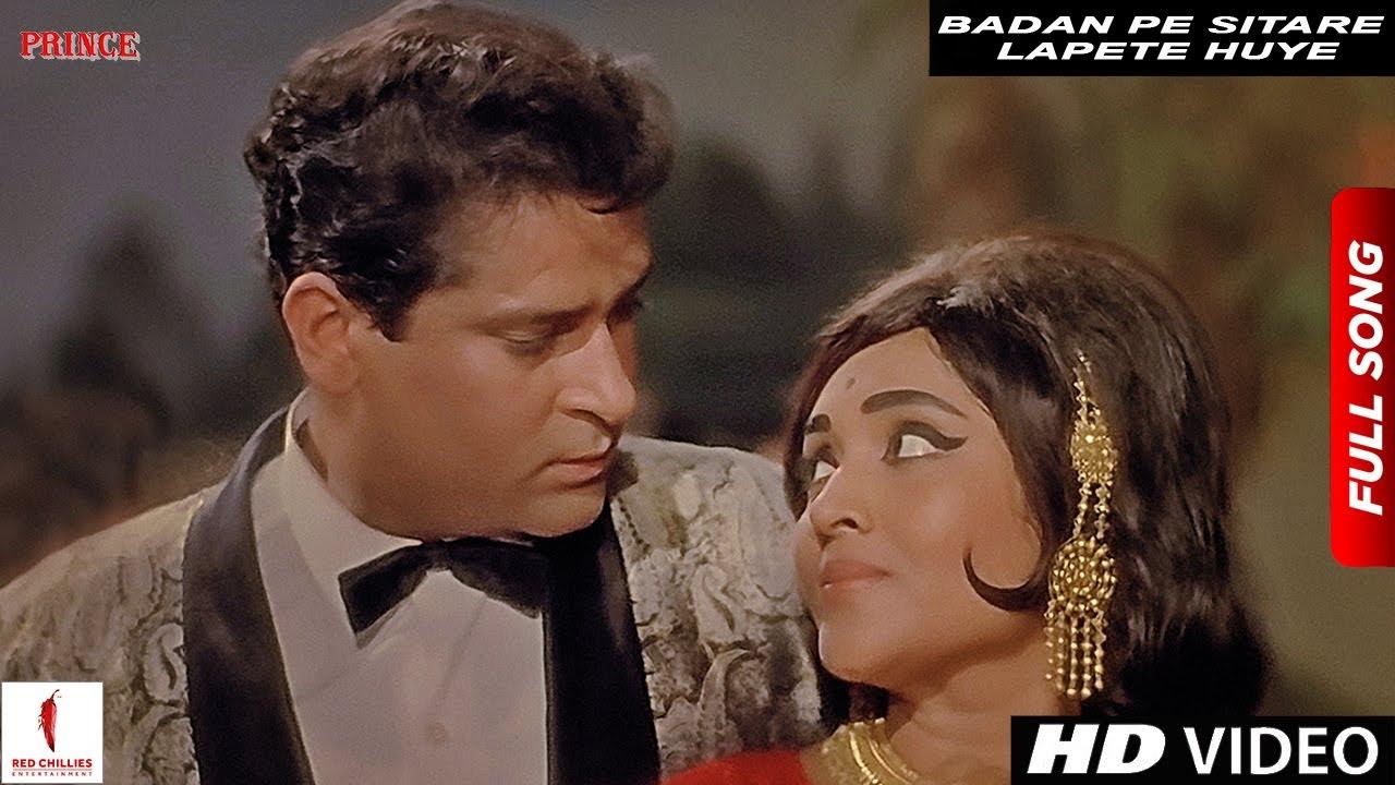 Download Badan Pe Sitare Lapete Huye | Mohammad Rafi | Prince | Shammi Kapoor, Vyjayanthimala