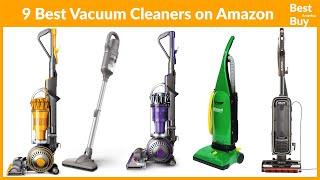 top 9 Best Vacuum Cleaners on amazon