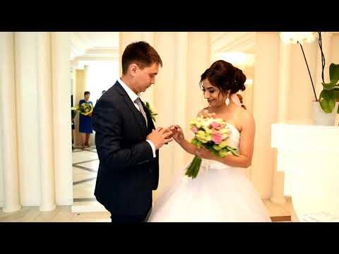 Торжественная регистрация брака Дмитрий и Кристина 15 06 2018